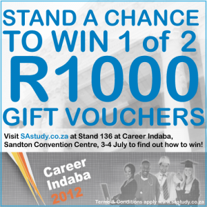 Register for career Indaba 2012