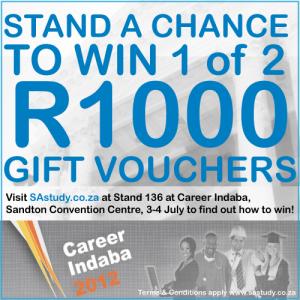 Register for career Indaba 2012