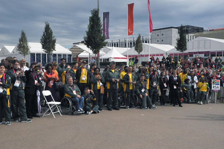 Salute Team SA, back from London Paralymics with 29 medals