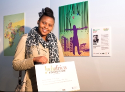 University of Johannesburg's art students win INDIAFRICA poster design competition 2 SA Study University, FET and Bursary Information South Africa