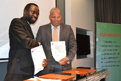 Professor Tshilidzi Marwala and Mr Errol Gradwell