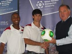 Varsity football challenge launched at NMMU 1 SA Study University, FET and Bursary Information South Africa