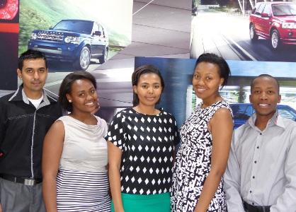 Jaguar Land Rover SA sets grads on a path to be upwardly mobile 1 SA Study University, FET and Bursary Information South Africa