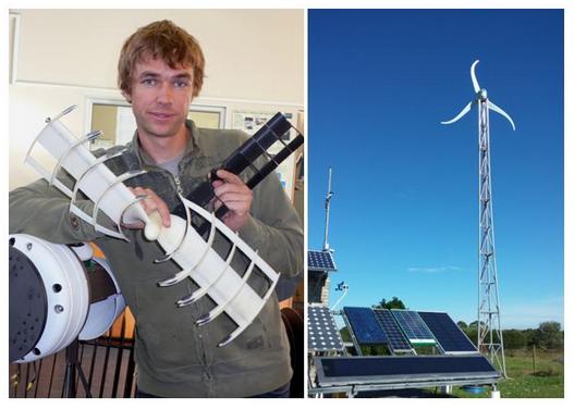 Wind turbine feeds NMMU grid 2 SA Study University, FET and Bursary Information South Africa