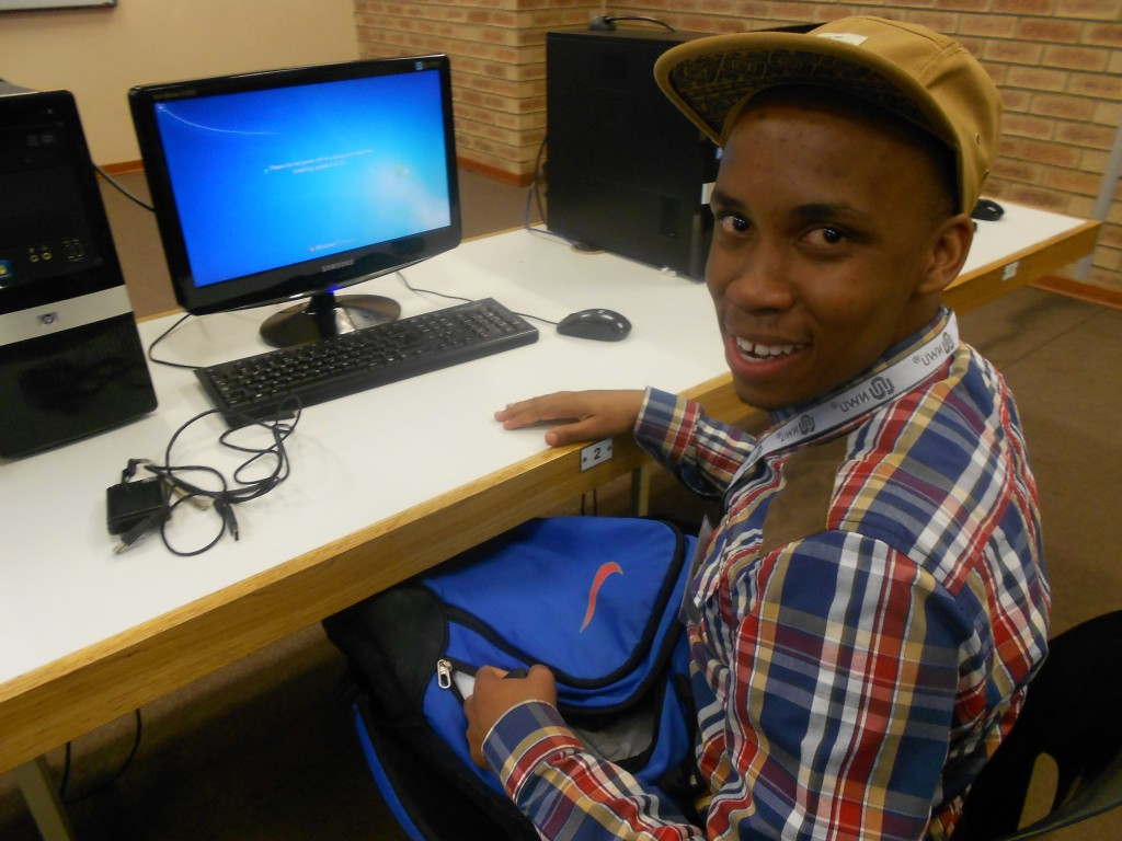 Solidly confident advice from a bright young mind - Ishmael Ramushu 1 SA Study University, FET and Bursary Information South Africa