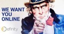 We want you online