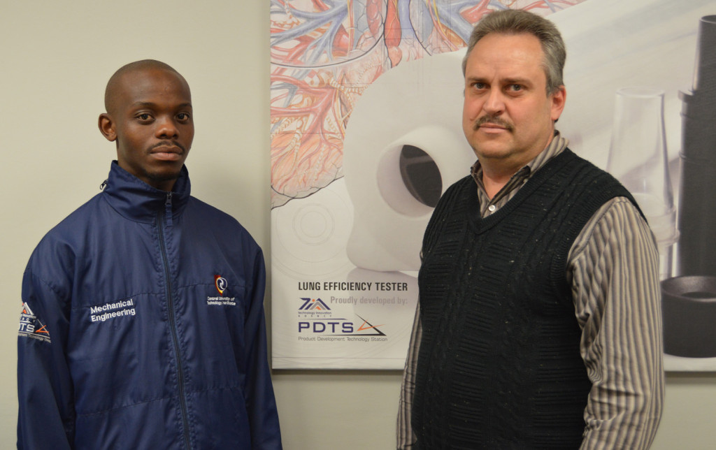 PDTS Director, Mr Ludrick Barnard, and Mr Kamohelo Mokoena, a mechanical engineering graduate from CUT are the brains behind the innovation. Pedal extensions were designed to give leverage to the student who could not fully reach the pedals in a normal car. Today, Mohalatsi can drive himself around the streets of Bloemfontein, home and take himself to campus.